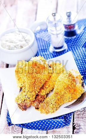 Fried Chicken Legs