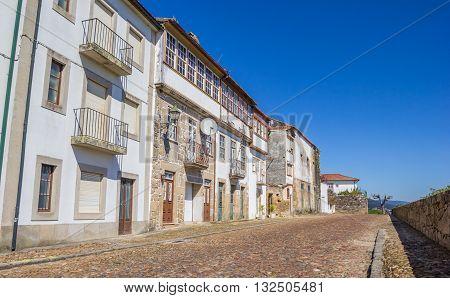 Cobblestoned Street In Valenca Do Minho