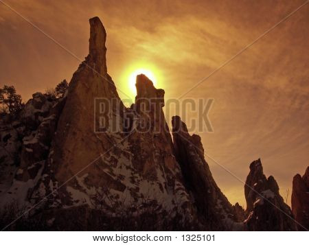 Sunrise On The Spires 3