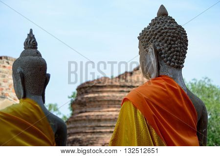 Buddhas statue / Buddhas face / Buddhas Stone