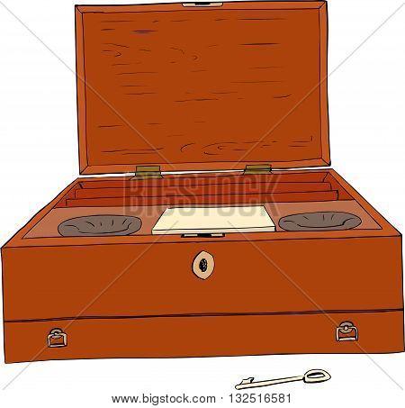 18Th Century Paint Box