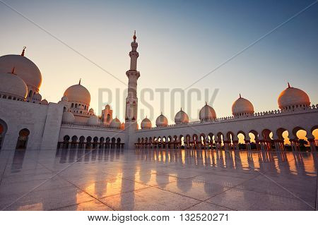 Mosque In Abu Dhabi