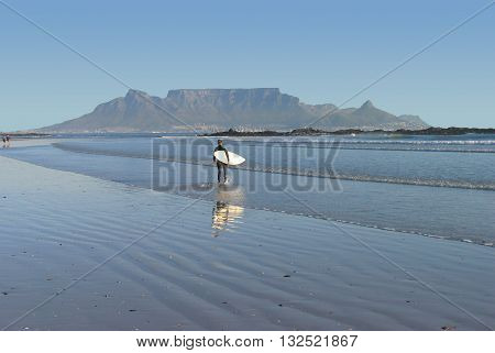View Of Table Mountain From Blouberg Strand, Cape Town South Africa 44