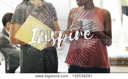 Inspire Inspiration Ideas Creativity Influencing Encourage Concept