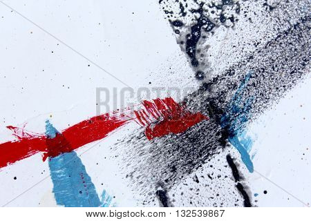 Abstract Grunge Paint Background 16