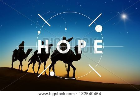 Hope Faith Love Religion Holy Concept