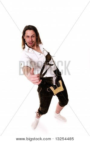 Drunken Man At Oktoberfest