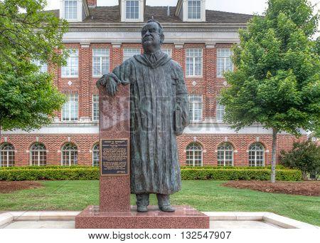 Henry G. Bennett Statue At Oklahoma State University