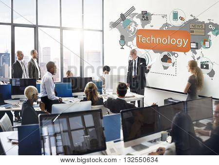 Technology Digital Evolution Innovation Concept