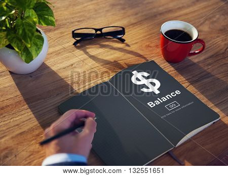 Dollar Sign Business Economy Trading Concept