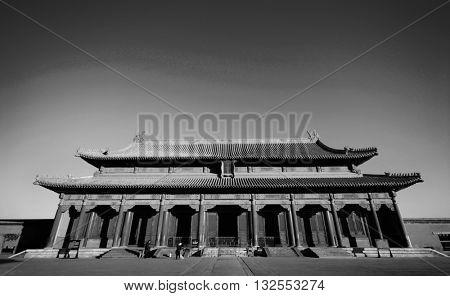 Forbidden City China Chinese Culture Concept