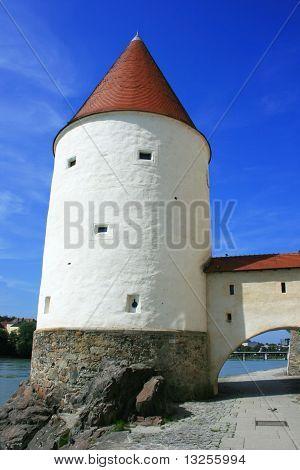 Passau - Schaiblingsturm, Germany