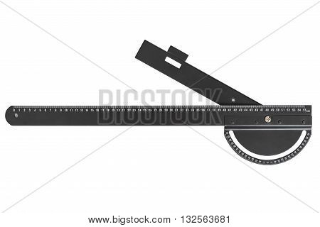 image of construction line-square isolated on white background