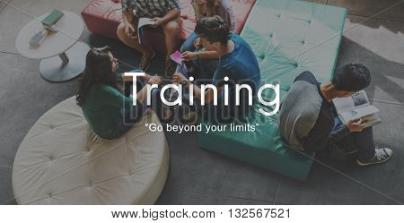 Training Mentoring Skills Ability Studying Development Concept
