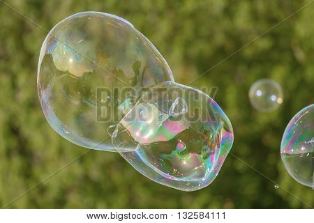 One Bubble In Nature