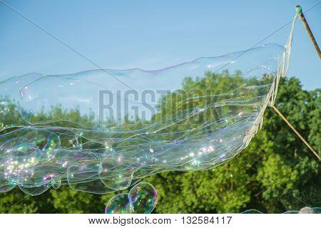 Factory Soap Bubbles