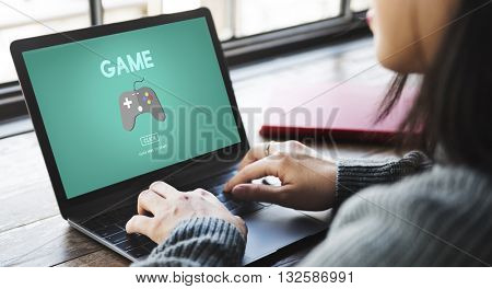 Game Gaming Fun Hobby Leisure Technology Concept