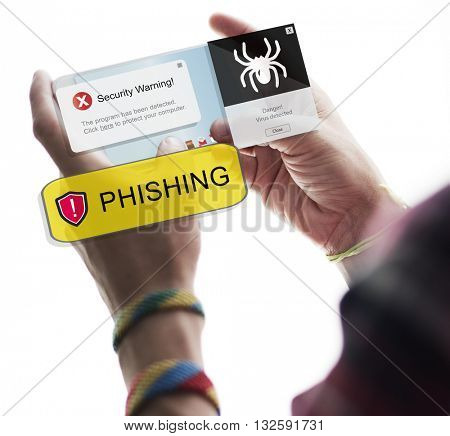 Phishing Cyber Crime Information Electronic Concept