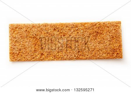 Crispbread Isolated On White Backgroud
