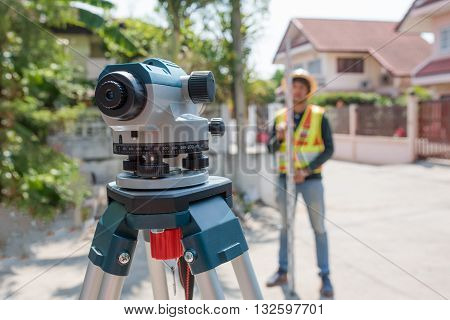 Surveying or land surveying is the technique profession and science of determining the terrestrial or three-dimensional position of points and the distances and angles between them