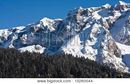 High Mountains Under Snow, Italy