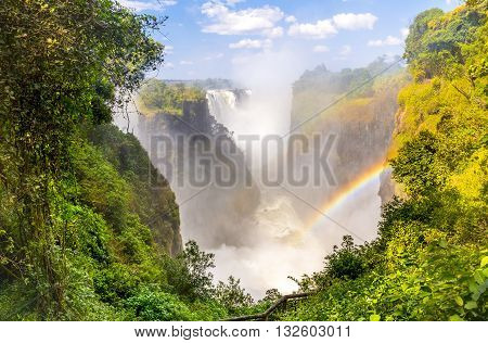 Victoria Falls Devils Cataract