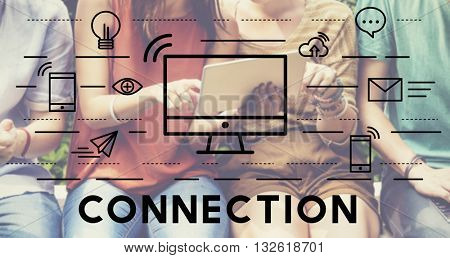 Connection Connected Networking Social Bond Concept