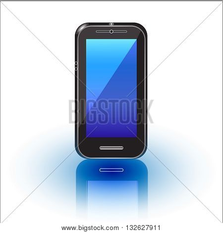 Cellphone,smartphone, stylish, symbol, technology,  illustration, isolated, lcd, mobile, modern, new,