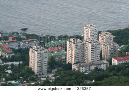 Apartment Houses In Foros (Crimea)
