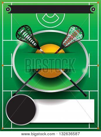 Lacrosse Template Flyer