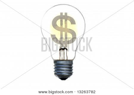 Dollar Electric Light Bulb
