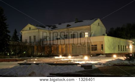 Sanatorium Building Near Moscow