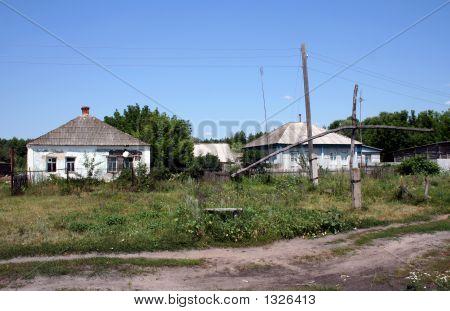 Casas del viejo país.
