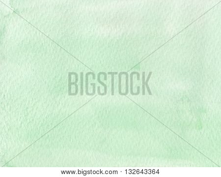 simple faded light tones green watercolor background