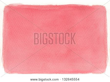 simple red tones flat textures watercolor abstract background