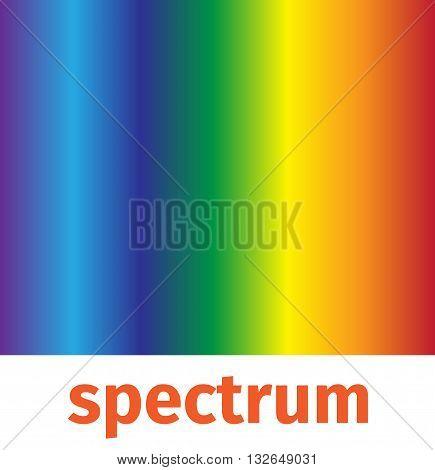 spectrum vector , icon and logo , rainbow