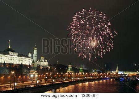 A Firework Near The Kremlin #6