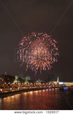 A Firework Near The Kremlin #3