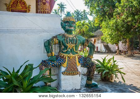 Religious Monument.luang Prabang.laos.