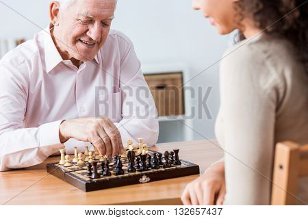It's Time For Chess Game
