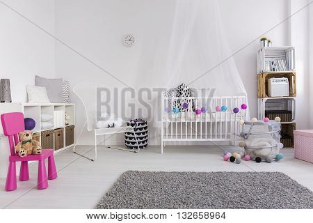 How To Decorate Baby Girl Bedroom