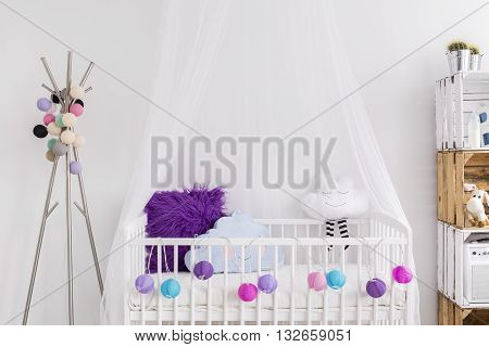 Creative Idea For Baby Girl Cradle