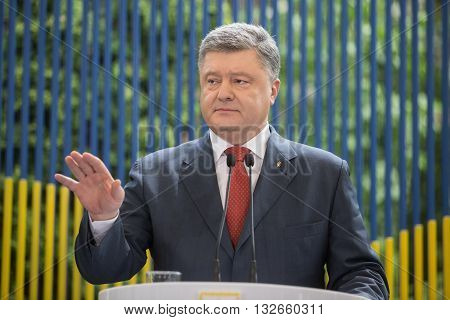 Press Conference Of President Of Ukraine Petro Poroshenko