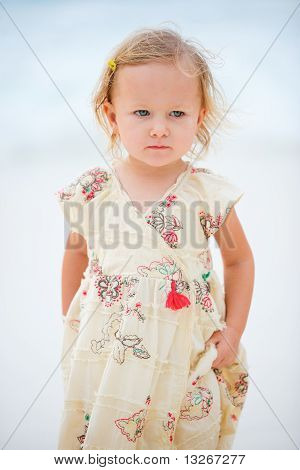 Adorable Toddler Girl