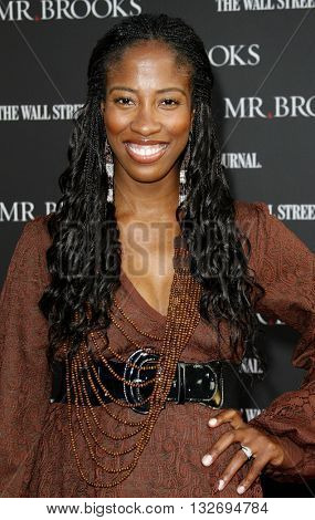 Shondrella Avery at the Los Angeles premiere of 'Mr. Brooks' held at the Grauman's Chinese Theater in Hollywood, USA on May 22, 2007.