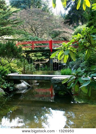 Bridges In Kubota Garden