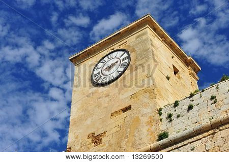 Details from the Citadella at Rabat Gozo Malta