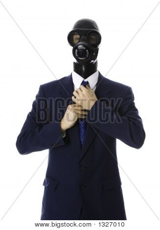 Masked Man And Tie