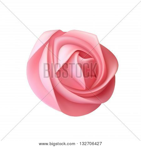 Essence cream vector icon isolated on white background. Whipped cream. Swirl cream for cupcake. Realistic cupcake cream isolated. Cream cake. Delicious dessert.