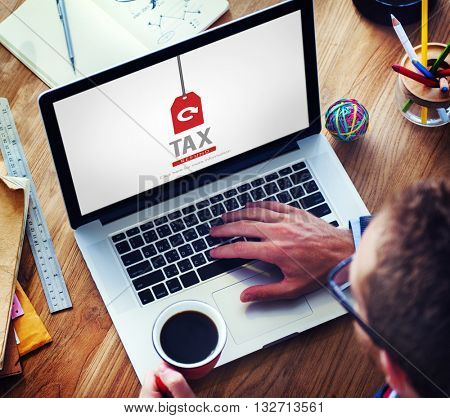 Tax Refund Income Paying Revenue Statement Pay Concept